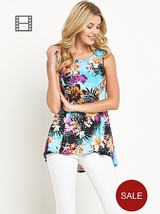 south-floral-print-godet-top