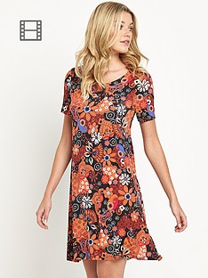 south-floral-print-swing-dress