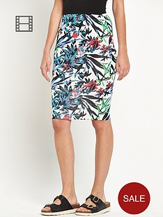 south-printed-tube-skirt
