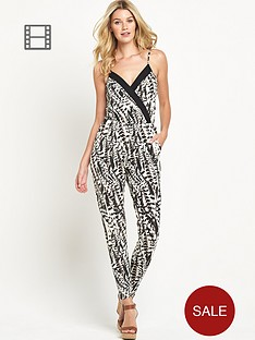 south-petite-feather-print-jumpsuit