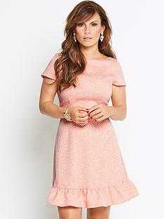coleen-jacquard-flip-hem-dress