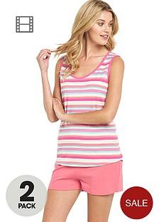 sorbet-holiday-stripe-shorts-set-2-pack