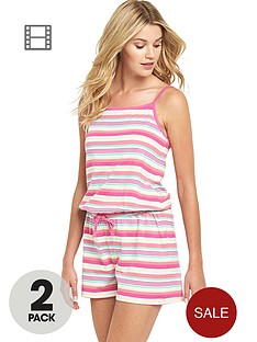 sorbet-holiday-stripe-playsuit-2-pack