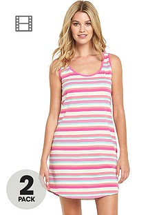 sorbet-holiday-stripe-long-sleep-vest-2-pack