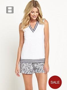 definitions-lounge-boho-shorts-set