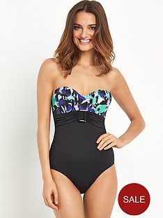 resort-printed-drape-bandeau-swimsuit