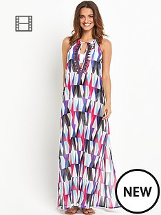 resort-printed-sheer-beach-maxi-dress