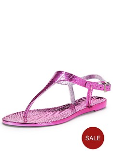 shoe-box-angie-metallic-jelly-toe-post-sandals