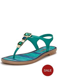 grendha-jewelled-toe-post-sandals