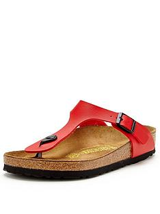 birkenstock-gizeh-cherry-red-toe-post-sandals