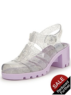 ju-ju-babe-two-tone-glitter-jelly-sandals