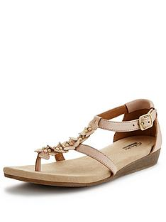clarks-qwin-tiara-jewel-flat-sandals