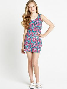 freespirit-girls-melon-bodycon-dress-with-knotted-back-detail