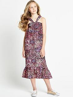 freespirit-girls-leopard-maxi-dress