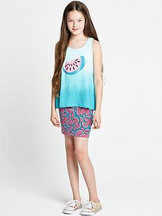 freespirit-girls-melon-vest-and-tube-skirt-set-2-piece