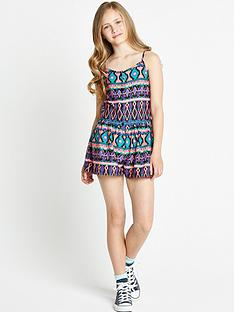 freespirit-girls-aztec-playsuit