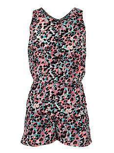 freespirit-girls-neon-animal-print-playsuit