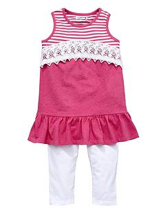 ladybird-girls-jersey-stripe-tunic-top-and-leggings-set-12-months-to-7-years