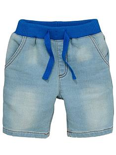 ladybird-boys-denim-look-jersey-shorts