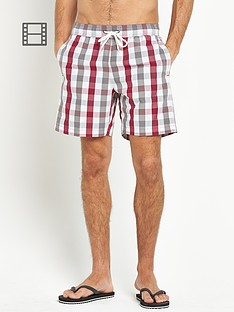 ben-sherman-mens-house-gingham-swim-shorts