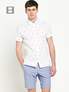 ted-baker-mens-short-sleeve-spot-printed-shirt