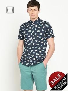 ted-baker-mens-short-sleeve-floral-print-shirt