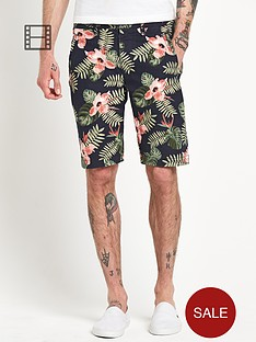 only-sons-mens-all-over-print-shorts