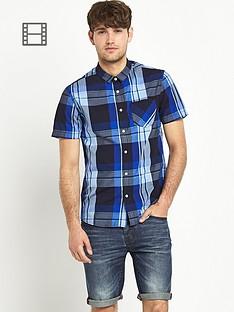 goodsouls-mens-blue-check-short-sleeve-shirt