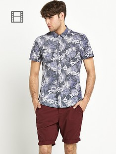 goodsouls-mens-black-print-hawaiian-shirt