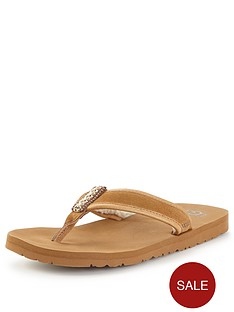 ugg-australia-borrego-toe-post-sandals