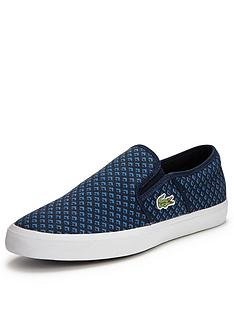lacoste-gazon-sport-slip-on-plimsolls-dark-blue