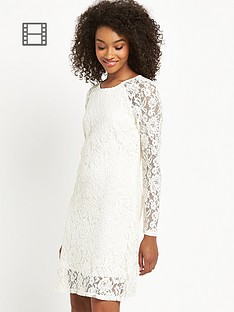 definitions-long-sleeve-lace-tunic-dress