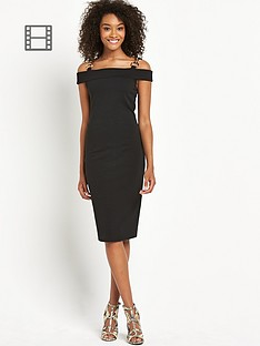 definitions-gold-trim-bardot-dress
