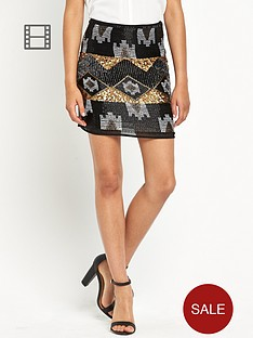 definitions-all-over-sequin-skirt