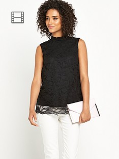 definitions-high-neck-lace-top