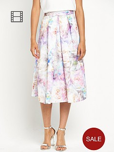 definitions-faint-floral-full-skirt