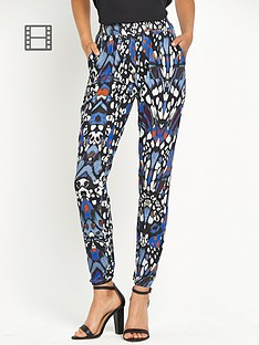 definitions-petite-printed-trousers