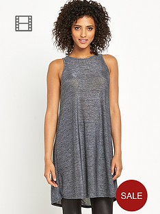 definitions-metallic-swing-jersey-tunic-top