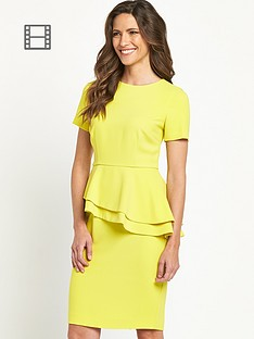 savoir-asymmetric-peplum-dress