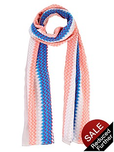 chevron-printed-scarf