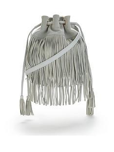 leather-fringe-duffle-bag-white