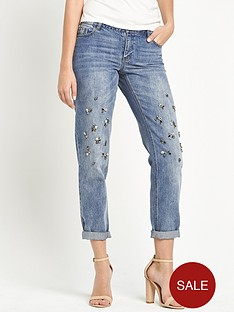 fearne-cotton-gem-detail-boyfriend-jeans