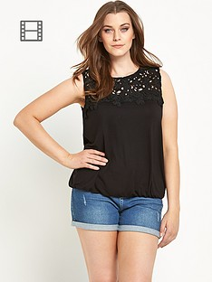 so-fabulous-floral-crochet-yoke-bubble-hem-top