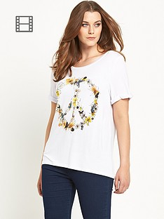 so-fabulous-flower-peace-turn-back-cuff-t-shirt
