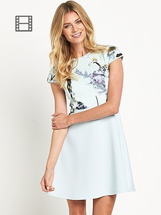 ted-baker-torchlit-floral-skater-dress
