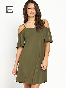 vero-moda-cold-shoulder-dress