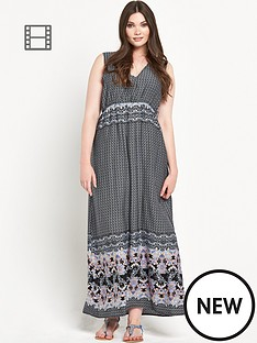 alice-you-border-print-maxi-dress