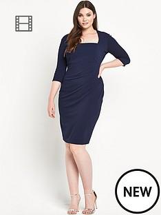 lipstick-boutique-curvy-waffle-pencil-dress