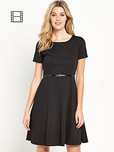 south-tall-ponte-fit-and-flare-dress