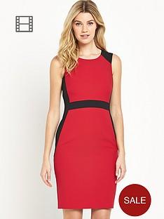 south-panelled-colourblock-dress